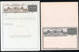 GUATEMALA STATIONERY SHIPS RAILWAY TRAIN 1897 - Stamps