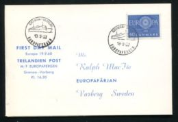 SWEDEN NORWAY DENMARK EUROPA 1960 - Sweden