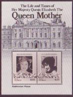 TUVALU 1980 QUEEN MOTHER BADMINTON HOUSE PROOF