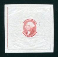 U.S.A. 1851 12c WASHINGTON REPRINTED DIE PROOF - Unused Stamps