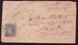 USA - RARE MISSISSIPPI 1864 CONFEDERATE COVER - Postal History