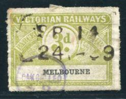 AUSTRALIA VICTORIA RAILWAYS - 1850-1912 Victoria