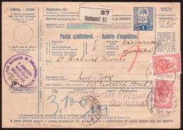HUNGARY 1920 POSTAL RECEIPT #2 - Hungary