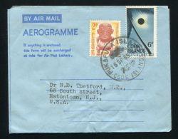 COOK ISLANDS AIRLETTER PUKA PUKA 1965 - Cook Islands