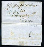 EGYPT POSTA EUROPEA TITO CHINI LOCAL POST 1861 - Egypt