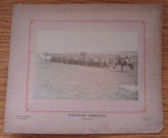 BECHUANALAND PHOKWANI CAMPAIGN CHRISTMAS 1896 KIMBERLEY - Photographs