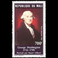 MALI 1982 - Scott# C446 George Washington Set Of 1 MNH - Mali (1959-...)