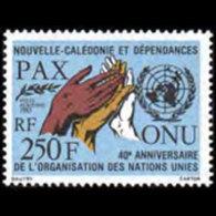 NEW CALEDONIA 1985 - Scott# C205 UN 40th. Set Of 1 MNH - New Caledonia