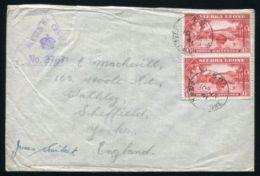 SIERRA LEONE BO POSTMARK WW2 CENSOR - Sierra Leone (...-1960)