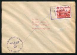 LUXEMBOURG DIENSTPOST WW2 EAGLE WEHRMACHT - Luxembourg