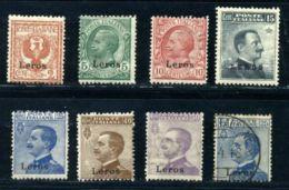 ITALY/GREECE/AEGEAN/COS 1912 SET MNH - Italy