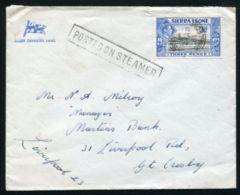 SIERRA LEONE NIGERIA MARITIME KG6 1951 - Sierra Leone (...-1960)