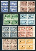 PERU AIRMAILS SHIP RAILWAY WOOL WATERLOW SPECIMENS 1936/37 - Peru