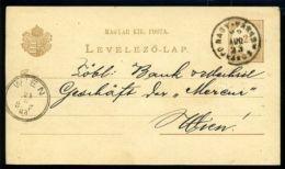 HUNGARY POSTAL STATIONERY CARD TYPE 111b - Hungary