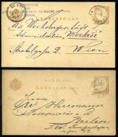 HUNGARY POSTAL STATIONERY CARDS TYPE 11c - Hungary