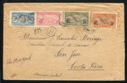 ST PIERRE ET MIQUELON 1922 AMAZING REGISTERED MARITIME BIRDS FISHERMAN - Europe (Other)