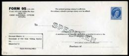 CANADA SPECIMEN POSTAL STATIONERY ELECTION ENV QE11 - Commemorative Covers