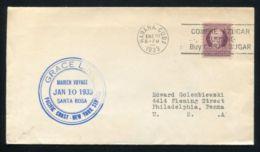CARIBBEAN SUGAR U.S.A. MARITIME GRACE LINE 1933 - Stamps