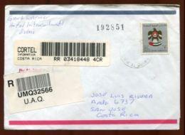 UNITED ARAB EMIRATES UMM AL QIWAIN TO COSTA RICA - United Arab Emirates