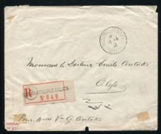 FRENCH LEVANT TURKEY SYRIA REGISTERED 1922 - Europe (Other)