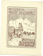 Ex Libris Jean Muller Mutzig ? Tirage Bistre - Ex-libris