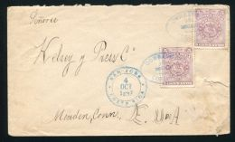 COSTA RICA ESCAZU PLACE OF THE WITCHES 1897 - Stamps