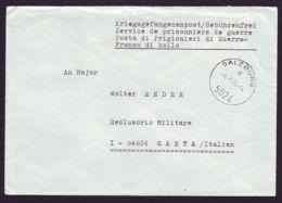 AUSTRIA 1974 POSTAGE PAID TO WAR CRIMINAL IN ITALY - Austria