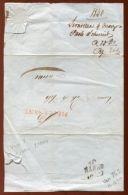 ITALY SERAVEZZA 1840 ENTIRE - Italy