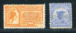 USA 1893 SPECIAL DELIVERY 10C - Postage Due