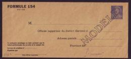 CANADA SPECIMEN POSTAL STATIONERY QE11 KARSH - Commemorative Covers