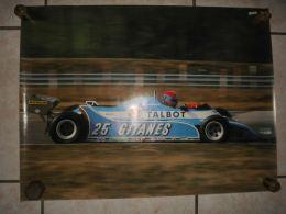 POSTER TABOT .- JABOUILLE 42X56 Cm - Carreras De Carros