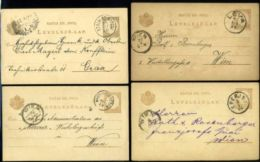 HUNGARY POSTAL STATIONERY CARDS TYPE 111 - Hungary