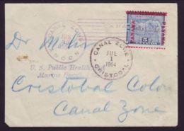 CANAL ZONE 1904 COVER - RARE! - Panama
