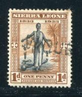 SIERRA LEONE MARITIME GAMBIA SLAVERY - Sierra Leone (...-1960)