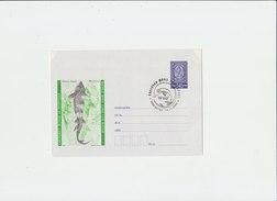 BULGARIA WWF Envelope 2004 With WWF Cancellation.