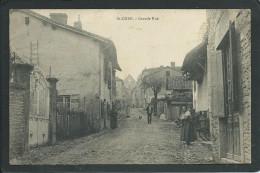 38 SAINT- CHEF( ISERE ). ANIMEE..GRANDE RUE....C1777 - Saint-Chef