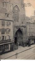 Cpa Caen 14 Calvados La Rue St Jean - Caen