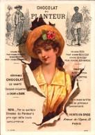 CHROMO  - Chocolat Du PLANTEUR - Femme Avec Chapeau - 19 Avenue De L´Opéra Paris  R/V - Chocolat
