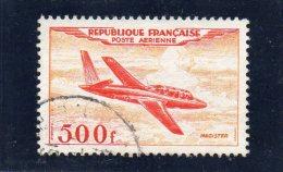 Poste Aérienne  N°32 Oblitéré   ...   500f  Magister   ...   FRANCE - Poste Aérienne