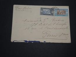FRANCE / SÉNÉGAL - Enveloppe Pour Paris En 1929 , Affranchissement Plaisant - A Voir - L 4735 - Sénégal (1887-1944)