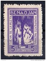 Benaojan  ( Malaga )  -  Cueva De La Pileta  - 5 Cts.-  Sofima 3 Spain Civil War  & 108 **   Cave Grotte Höhle