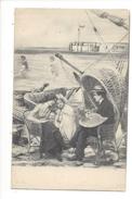 15722 -  Peintre Avec Sa Palette Et 2 Jeunes Filles Par Scolik Serie 1021-6 J.P.W - Scolik, Charles