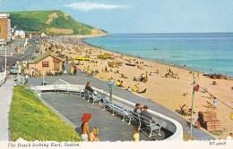 SEATON THE BEACH LOOKING EAST - England