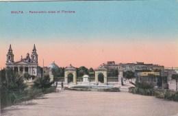 MALTA  -PANORAMIC VIEW OF FLORIANA - Malte