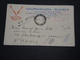 BRÉSIL - Enveloppe Par Avion Pour La France En 1957 , Affranchissement Mécanique - A Voir - L 4741 - Brésil