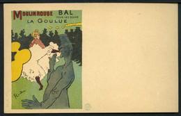 Toulouse Lautrec - Moulin Rouge - La Goulue - CINOS N° 33 - Non Viaggiata 1898/1900 Circa - Rif. 16324 - Illustratori & Fotografie