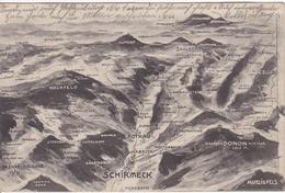 Alte Ansichtskarte Aus Den Vogesen -Schirmeck Und Umgebung- - Schirmeck