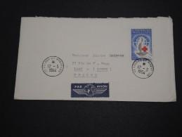SAINT PIERRE ET MIQUELON - Enveloppe Pour Laon En 1964 , Affranchissement Plaisant - A Voir - L 4745 - St.Pierre Et Miquelon