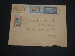 FRANCE / SÉNÉGAL - Enveloppe De Dakar Pour La France Par Avion , Affranchissement  Plaisant - A Voir - L 4750 - Sénégal (1887-1944)