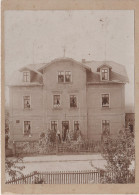 CDV Foto ? Kabinettfoto ? Hartpappe Dresden Klotzsche Villa Asgard Max Hünig Strasse 2 Georgstrasse 11 Bei Hellerau - Orte